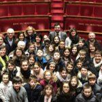 Les Jeunes Conseillers municipaux Sud-Vendéens en visite à l'Assemblée nationale