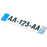 Pour un logo départemental sur les plaques d'immatriculation